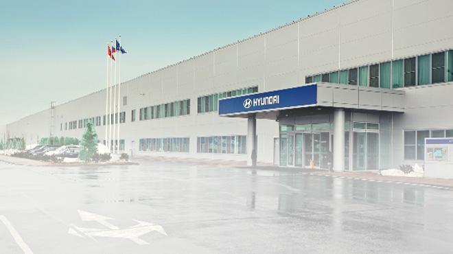 Автомобильный завод Hyundai